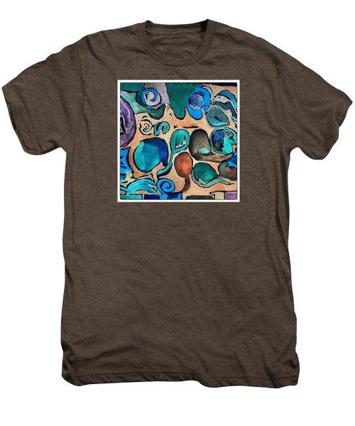 Circles Of Colors.... Men's Premium T-Shirt