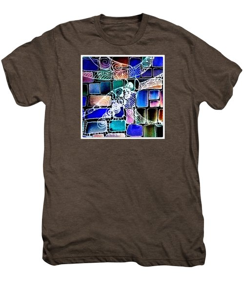 Painting The Old Bricks With Happiness Men's Premium T-Shirt