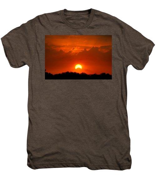 Solar Eclipse Men's Premium T-Shirt by Bill Pevlor
