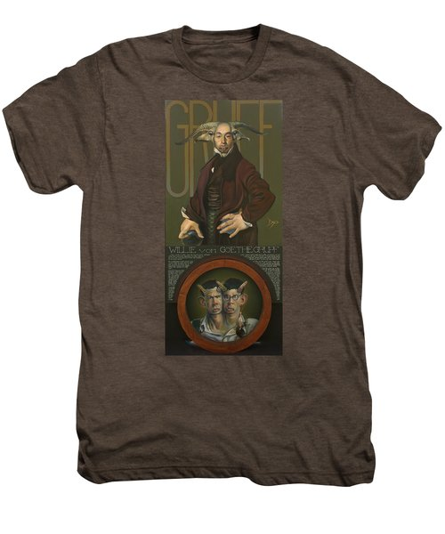 Willie Von Goethegrupf Men's Premium T-Shirt by Patrick Anthony Pierson