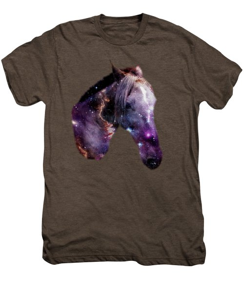 Horse In The Small Magellanic Cloud Men's Premium T-Shirt