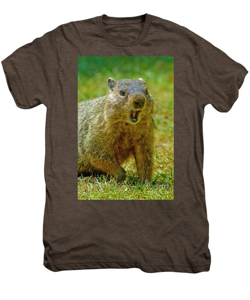 A Hungry Fellow  Men's Premium T-Shirt by Paul W Faust - Impressions of Light
