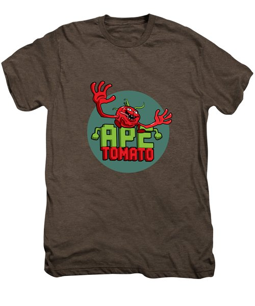 Ape Tomato Grey Green Men's Premium T-Shirt by Nicolas Palmer