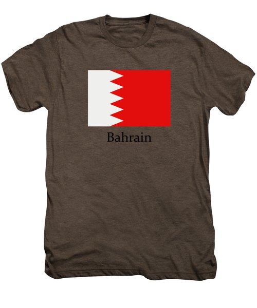 Bahrain Flag Men's Premium T-Shirt