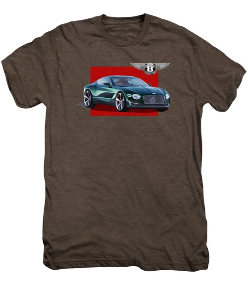 Bentley E X P  10 Speed 6 With  3 D  Badge  Men's Premium T-Shirt