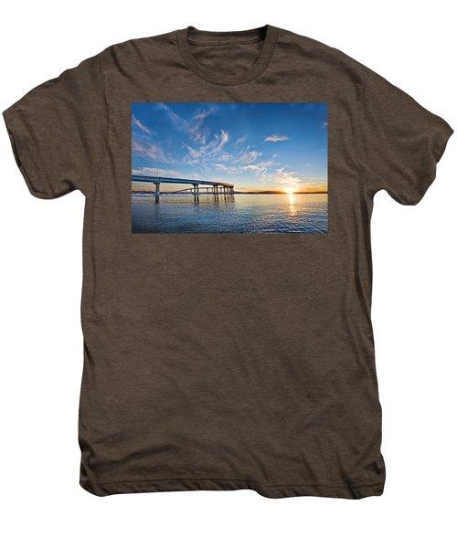 Bridge Sunrise Men's Premium T-Shirt