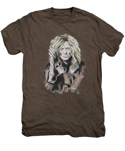 David Coverdale Men's Premium T-Shirt by Melanie D