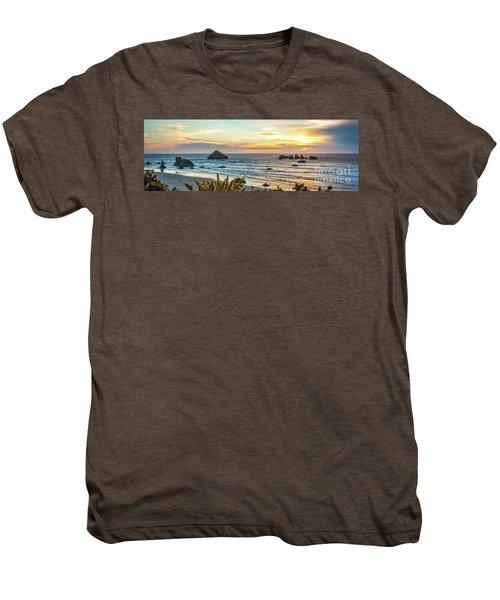 Face Rock At Sunset Men's Premium T-Shirt