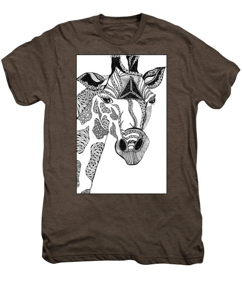 Giraffe Men's Premium T-Shirt
