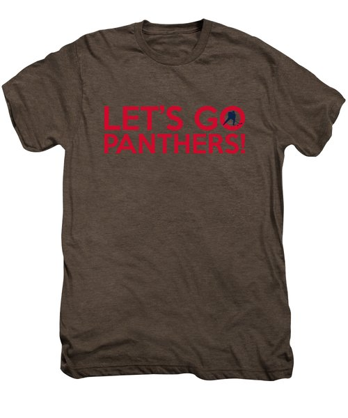 Let's Go Panthers Men's Premium T-Shirt