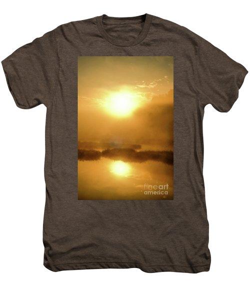 Misty Gold Men's Premium T-Shirt by Tatsuya Atarashi