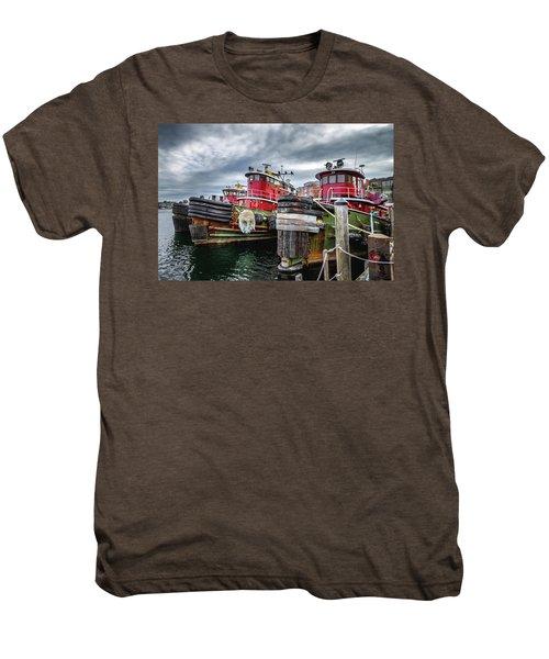 Moran Towing Tugboats Men's Premium T-Shirt