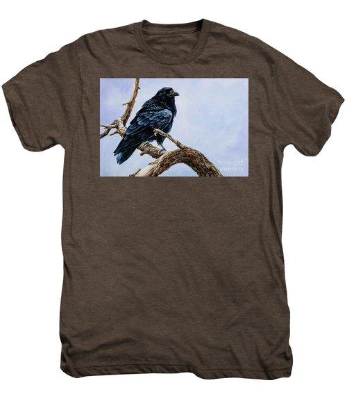 Raven Men's Premium T-Shirt