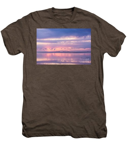 Reflections At Sunset In Key Largo Men's Premium T-Shirt