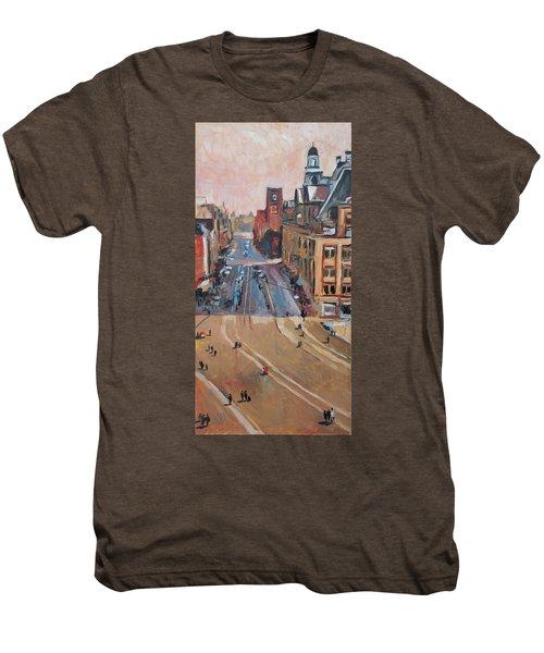 Sunny Sunday At The Damrak Men's Premium T-Shirt