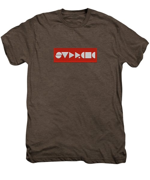 Supreme Being Embroidered Abstract - 1 Of 5 Men's Premium T-Shirt