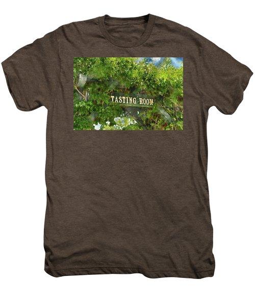 Tasting Room Sign Men's Premium T-Shirt