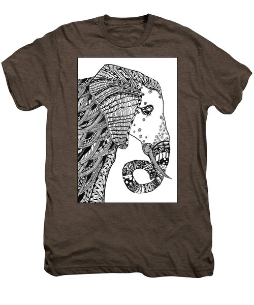 Wise Elephant Men's Premium T-Shirt