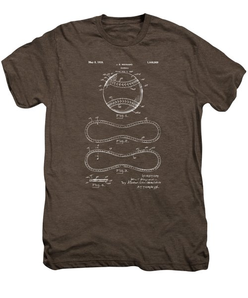1928 Baseball Patent Artwork - Gray Men's Premium T-Shirt