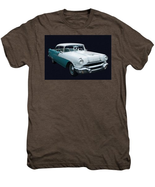 1956 Pontiac Star Chief Digital Oil Men's Premium T-Shirt