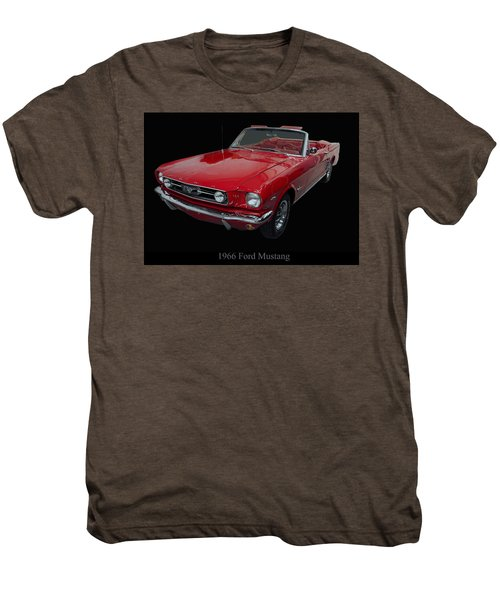 1966 Ford Mustang Convertible Men's Premium T-Shirt