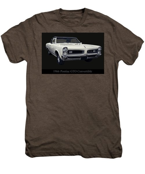 1966 Pontiac Gto Convertible Men's Premium T-Shirt