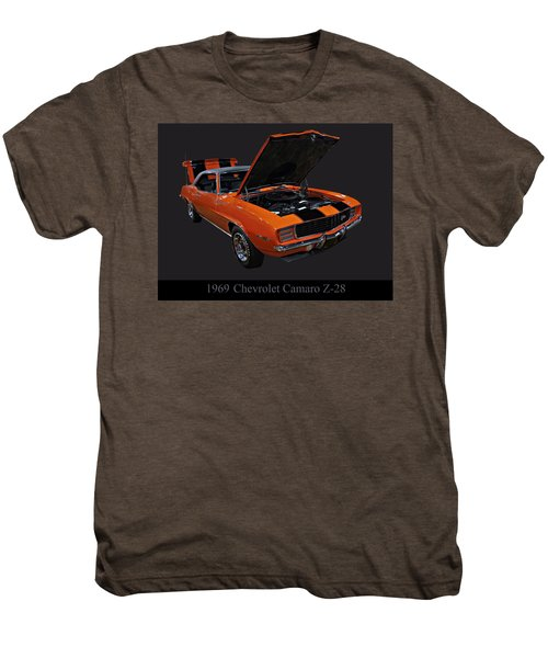 1969 Chevy Camaro Z28 Men's Premium T-Shirt