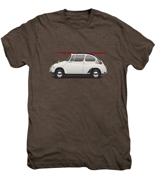 1969 Subaru 360 Young Ss - Creme Men's Premium T-Shirt