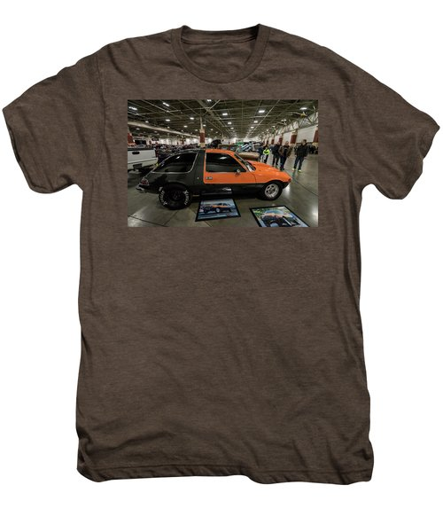 Men's Premium T-Shirt featuring the photograph 1975 Amc Pacer by Randy Scherkenbach
