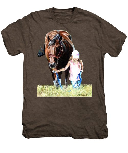 Just A Girl And Her Horse  Men's Premium T-Shirt
