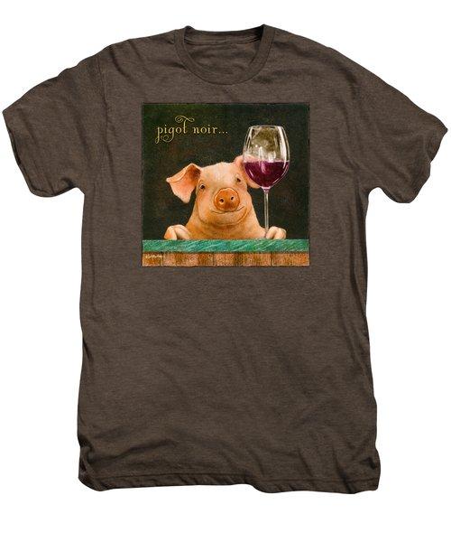 Pigot Noir... Men's Premium T-Shirt by Will Bullas