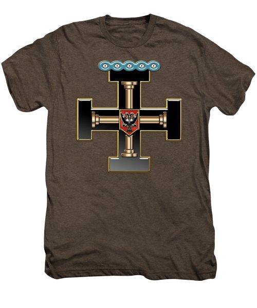 27th Degree Mason - Knight Of The Sun Or Prince Adept Masonic Jewel  Men's Premium T-Shirt