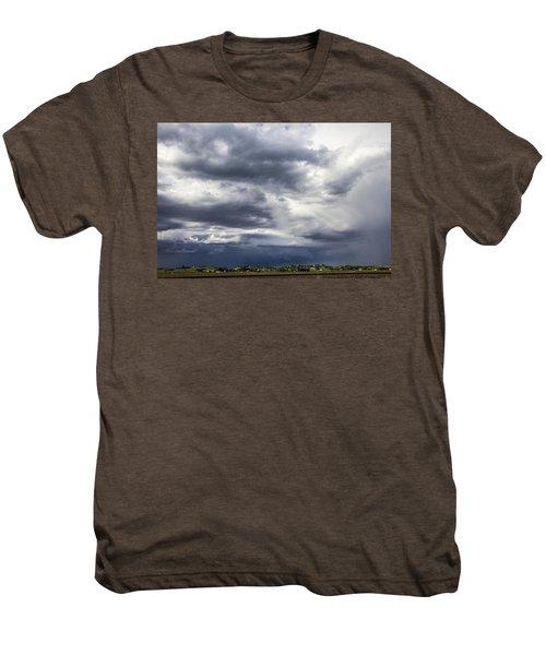 Afternoon Nebraska Thunderstorm Men's Premium T-Shirt