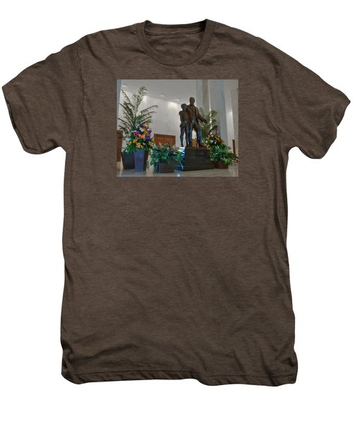 Milton Hershey And The Boy Men's Premium T-Shirt