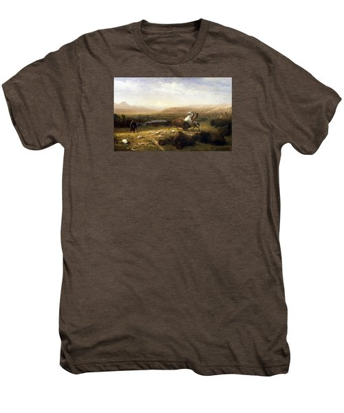 The Last Of The Buffalo  Men's Premium T-Shirt by MotionAge Designs