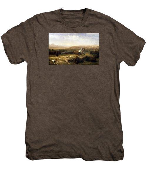 The Last Of The Buffalo  Men's Premium T-Shirt