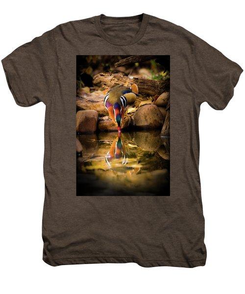 A Cold Drink - Mandarin Drake Men's Premium T-Shirt