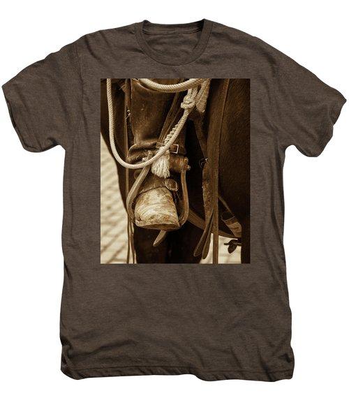 A Cowboy's Boot Men's Premium T-Shirt