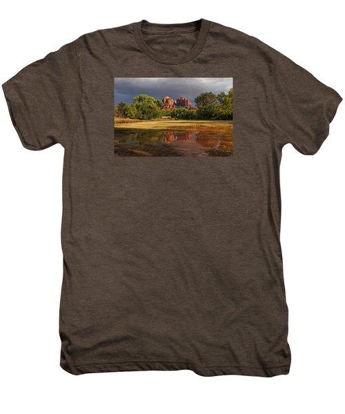 A Light In Darkness Men's Premium T-Shirt
