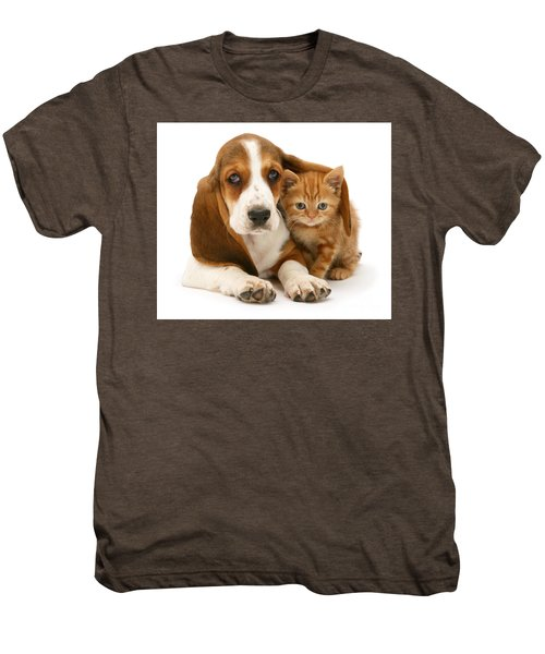 A New Meaning To Cat Flap Men's Premium T-Shirt