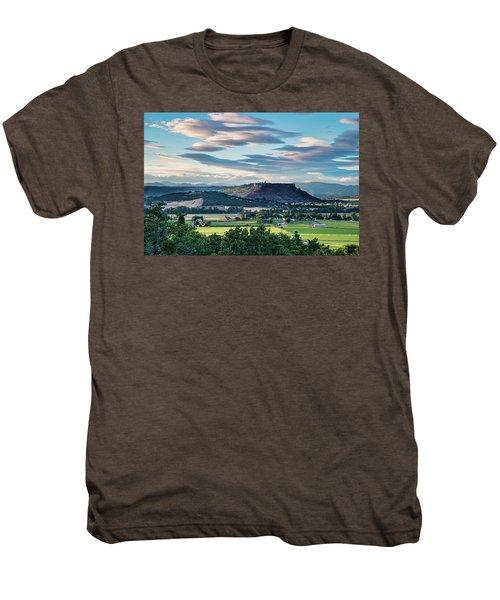 A Peaceful Land Men's Premium T-Shirt