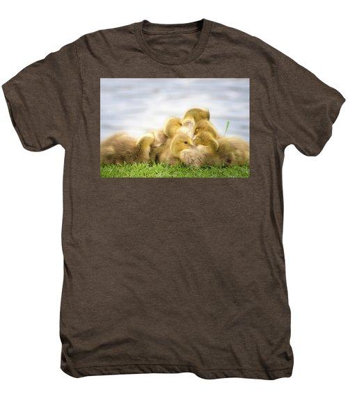 A Pile Of Goslings Men's Premium T-Shirt