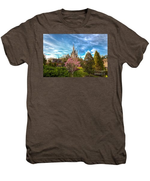 A Quiet Countryside Men's Premium T-Shirt
