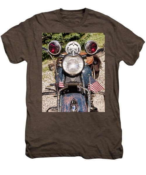 A Very Old Indian Harley-davidson Men's Premium T-Shirt by James BO  Insogna