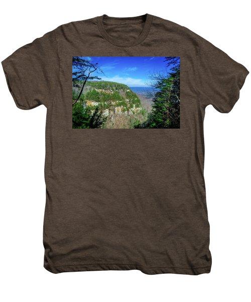 Above The Canyon Men's Premium T-Shirt