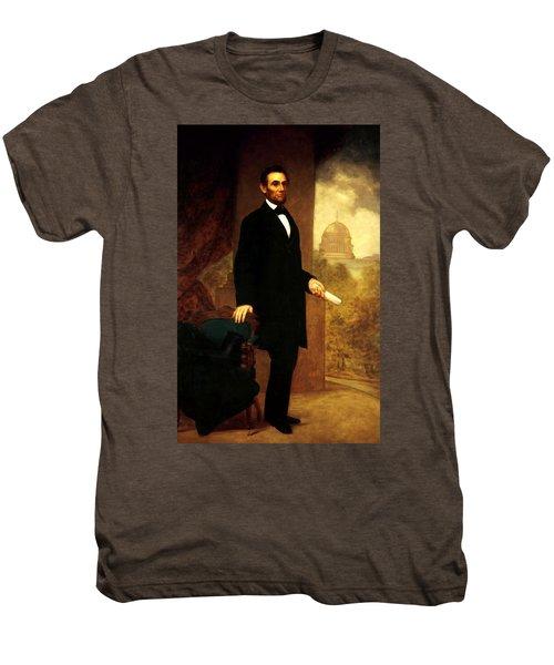 Abraham Lincoln 24 Men's Premium T-Shirt