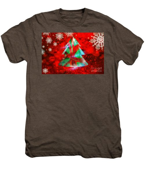 Abstract Christmas Bright Men's Premium T-Shirt