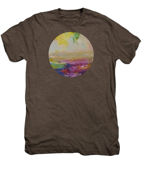 Abstract Impressions- Number 2 Men's Premium T-Shirt