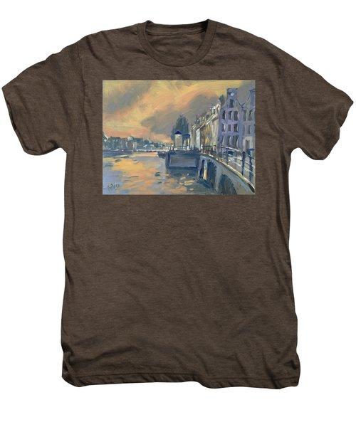 Amsterdm Morning Light Amstel Men's Premium T-Shirt