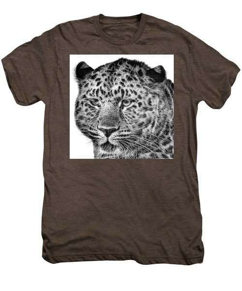 Amur Leopard Men's Premium T-Shirt